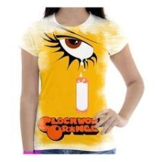 Imagem de Camiseta Camisa Feminina Orange Laranja Mecanica 14