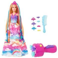 Imagem de Boneca Barbie Dreamtopia Princesa Tranças Mágicas Mattel