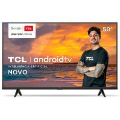 """Smart TV LED 50"""" TCL 4K HDR 50P615 3 HDMI"""
