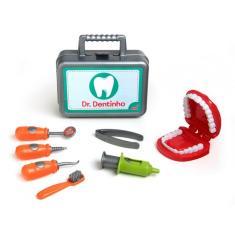 Imagem de Brinquedo Maleta Dentista Doutor Dentinho E Acessórios Elka