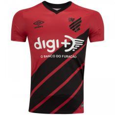 Camisa Torcedor Athlético Paranaense I 2019/20 Umbro