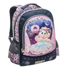 Mochila Escolar Pacific Mônica Cinderella 963T04