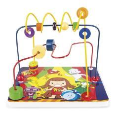 Imagem de Brinquedo Pedagógico Madeira Aramado Turma Da Tyta Menino Menina Escola Creche Jogo Educativo