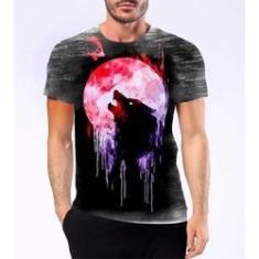 Imagem de Camiseta Camisa Lobisomem Licantropo Homem Lobo Mitologia 2