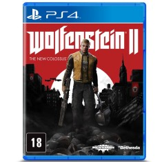 Jogo Wolfenstein II The New Colossus PS4 Bethesda