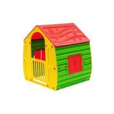 Imagem de Casinha Infantil Colorida em Plastico com Porta e Janelas Starplay