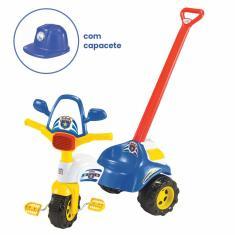 Imagem de Triciclo com Pedal Magic Toys Tico-Tico Polícia