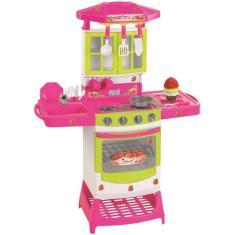 Imagem de Cozinha Moranguita Infantil Pia E Fogão Magic Toys 8021