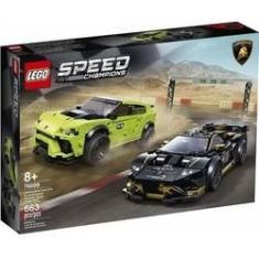 Imagem de LEGO 76899 Speed Champions - Lamborghini Urus ST-X E Lamborghini Huracan Super Trofeo EVO