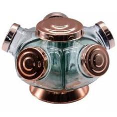 Imagem de Baleiro de vidro giratório Boêmia
