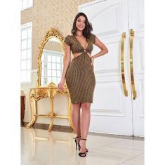 Imagem de Vestido Limone Modas aberto cintura