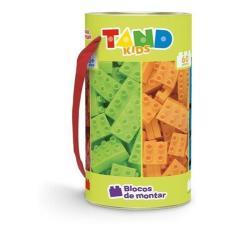Imagem de Blocos De Montar Tand Kids 60 Peças Tubo - Toyster