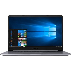 "Notebook Asus VivoBook 15 Intel Core i5 7200U 7ª Geração 8GB de RAM HD 1 TB 15,6"" Windows 10 X510UA-BR484T"