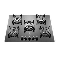 Cooktop Electrolux GC75V 5 Bocas Acendimento Superautomático