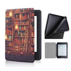 Imagem de Capa Novo Kindle Básico 10ª Geração Silicone - Library