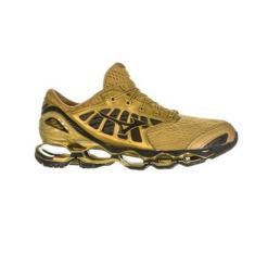 Tênis Mizuno Masculino Corrida Wave Prophecy 9 Golden Run