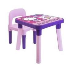 Imagem de Hello Kitty - Mesinha Com Cadeira Infantil E Boneca