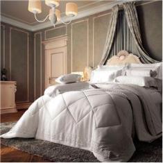 Imagem de Edredom King Plumasul Chateau Versailles em Cetim 100% Algodão 400 Fios 280 x 260 cm –  Real