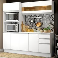 Imagem de Cozinha Compacta 2 Gavetas 9 Portas Smart Madesa