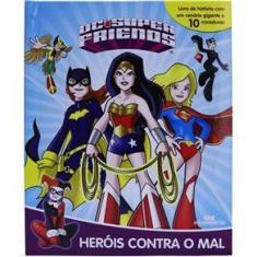 Imagem de Livro Heróis Contra O Mal: Dc Super Friends