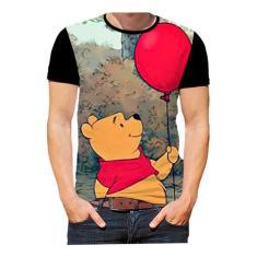 Imagem de Camiseta Camisa Urisnho Pooh Urso Filmes Desenhos Art 01