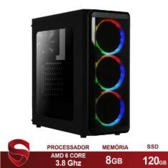 PC Skill 40453 AMD A6 7480 8 GB 120 Radeon R5 Linux
