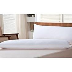 Imagem de Travesseiro Body Pillow 100% Pena de Ganso Percal 233 Fios 50x150 - Plumasul