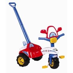 Imagem de Triciclo com Pedal Magic Toys Tico-Tico Avião