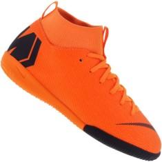 1666f52015849 Tênis Nike Infantil (Menino) Futsal MercurialX Superfly 6 Academy