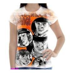 Imagem de Camiseta Camisa Feminina Orange Laranja Mecanica 8