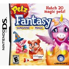 Jogo Petz Fantasy Sunshine Magic Ubisoft Nintendo DS