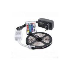 Fita Led 5m Ultra Rgb 3528w + Controle + Fonte