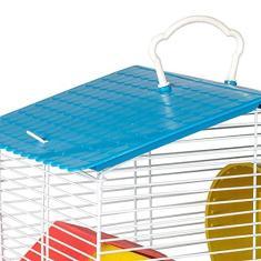 Imagem de Gaiola de 1 andar para Hamster com Teto Plástico Completa Jel Plast