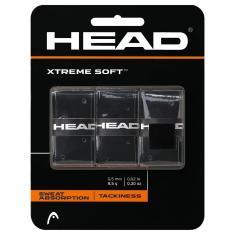 HEAD Raquete Xtreme Soft Overgrip – Fita aderente para raquete de tênis – Pacote com 3,