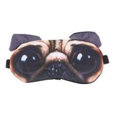 Imagem de Máscara De Dormir 3d Infantil Cachorro Tapa Olho Viagem