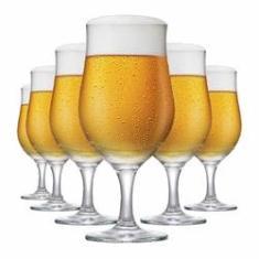 Imagem de Jogo de Taças de Cerveja de Vidro Berlim 330ml 6 Pcs