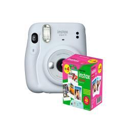 kit Câmera Instantânea Fujifilm Instax Mini 11 Branca + Filme com 40 Fotos