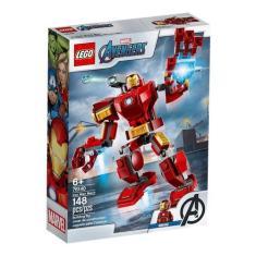 Imagem de LEGO Super Heroes Marvel Avengers Robô Iron Man 76140