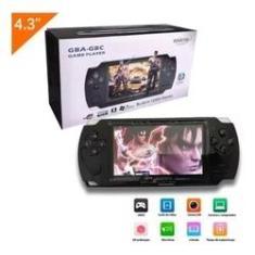 Imagem de Vídeo Game Mini Portátil Retrô 10000 Jogos Super Gba Gbc Nes Nintendo Sega Mp3 Mp4 Mini Suporta 8GB Lcd 4.3