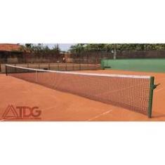 Imagem de Rede De Tenis Simples Fio 2,5Mm Seda 1 Faixa Pvc Impermeável