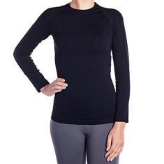 Imagem de Camiseta Sem Costura Lupo Manga Longa Feminino Térmica Lupo  ref.71012