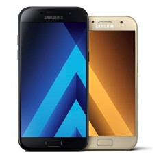 Smartphone Samsung Galaxy A7 2017 A720F 32GB 16,0 MP 2 Chips Android 6.0 (Marshmallow) 3G 4G Wi-Fi