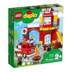Imagem de Lego Duplo Quartel Dos Bombeiros - 10903 - Original