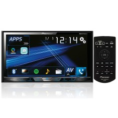 "DVD Player Automotivo Pioneer 7 "" AVH-X598TV Entrada para camêra de ré USB"