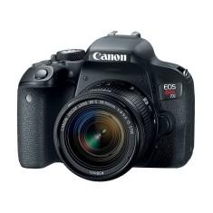 Câmera Digital Canon EOS Rebel T7i DSLR(Profissional) Full HD