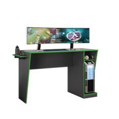 Imagem de Mesa Gamer Cyber Candian JCM Grafite E Verde