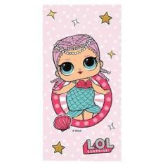 Imagem de Toalha de Banho Infantil LOL Surprise Aveludada Lepper