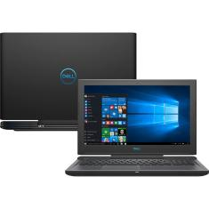 "Notebook Dell G7 Intel Core i7 8750H 8ª Geração 16GB de RAM HD 1 TB SSD 128 GB 15,6"" GeForce GTX 1060 Linux G7-7588-U35"