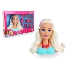 Imagem de Boneca Barbie Penteados Busto Pupee