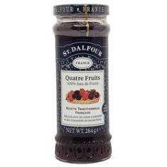Imagem de Geleia Francesa St Dalfour Quatro Frutas 284 g Importada